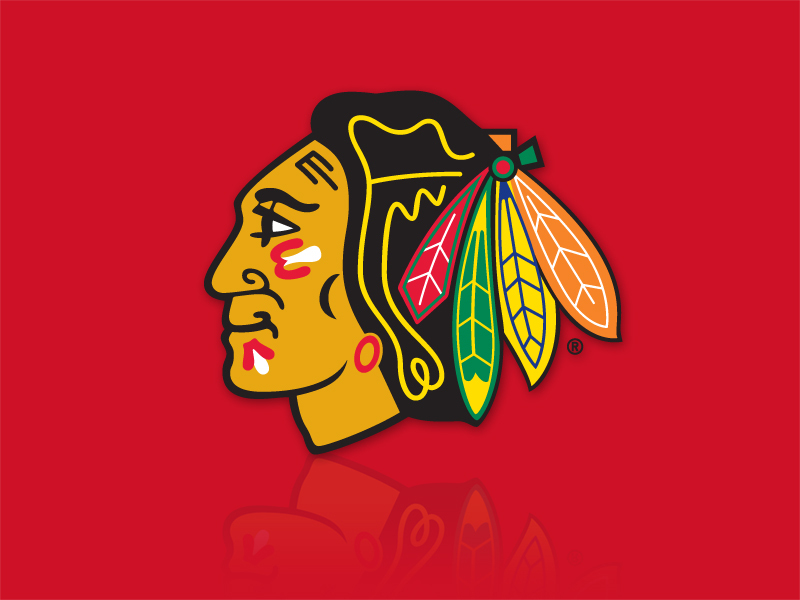 Blackhawks Hat With Feathers Have a Blackhawks Hat… or